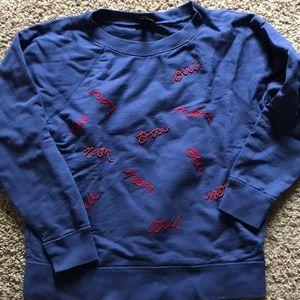 J.Crew navy sweatshirt